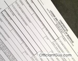 marriage license los angeles